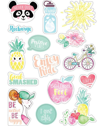 ***Pre-Order*** Sizzix - Stickers By Katelyn Lizardi - Planner Page Icons #2