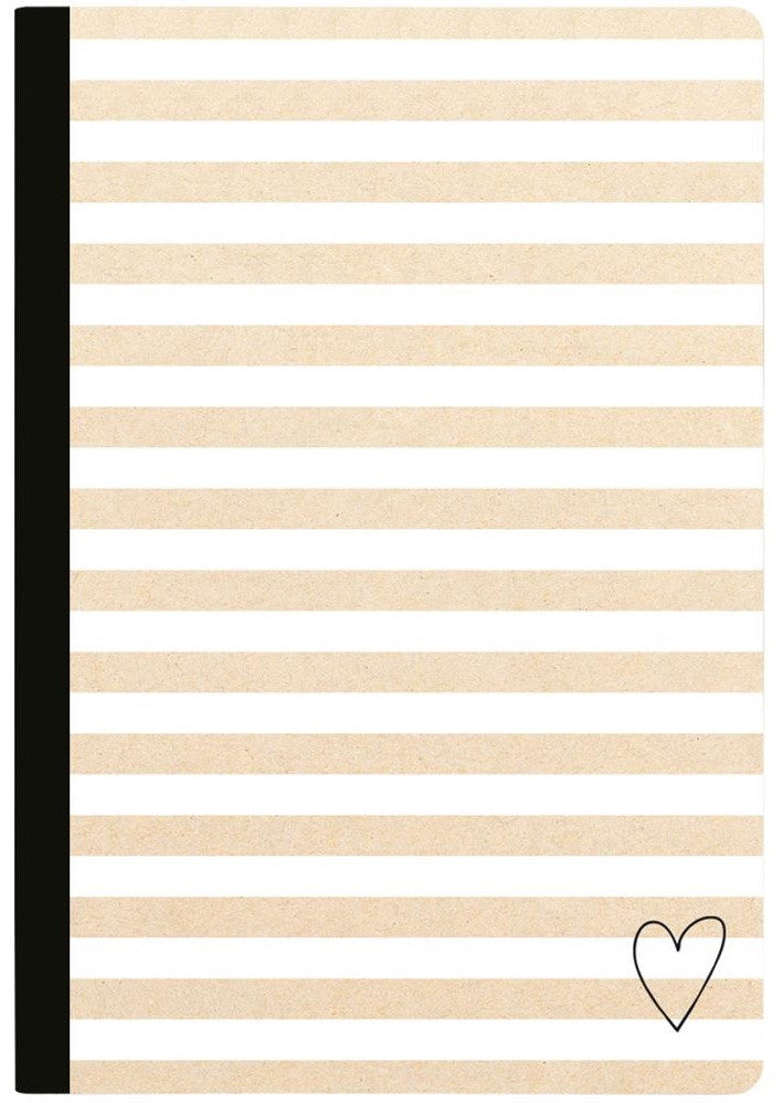 Webster's Pages - Color Crush Composition Planner Notebook - Kraft Stripe