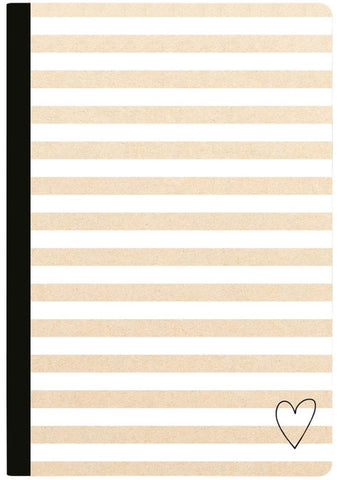 Webster's Pages - Color Crush Composition Planner Notebook - Kraft Stripe with 80 Lined Sheets (Available: March 24, 2017)