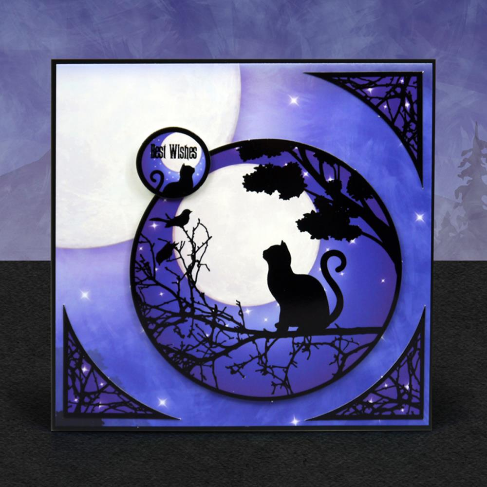 Hunkydory Crafts - Twilight Kingdom Luxury Topper Set - One Enchanted Evening