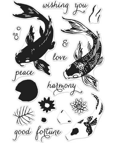 Hero Arts - Clear Stamps - Color Layering Koi