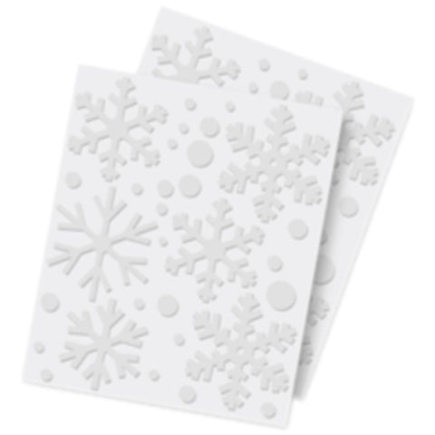 Scrapbook Adhesives -  3D Foam Shapes 32Pcs - Snowflakes