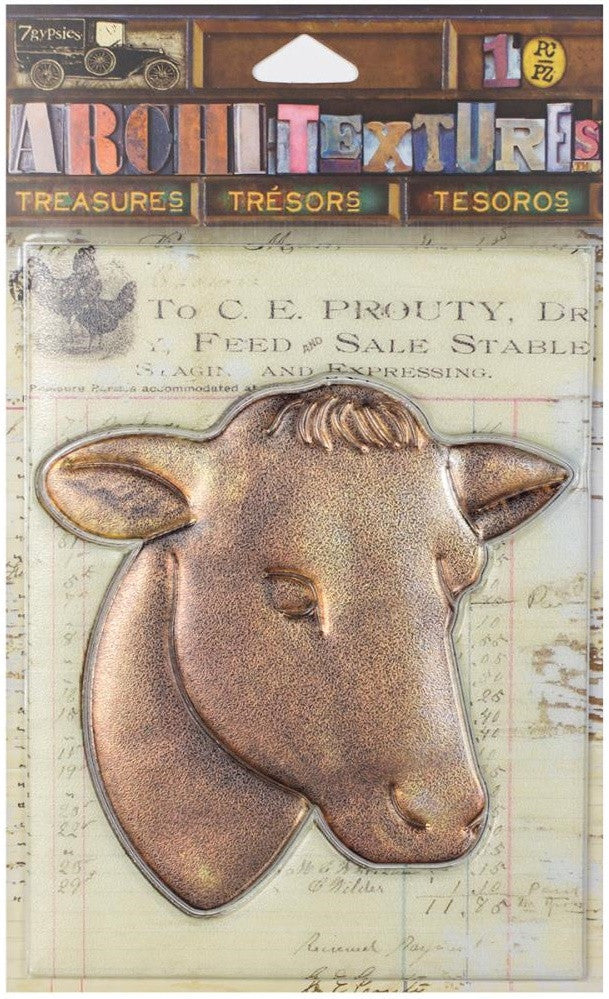 7Gypsies - Architextures Treasures - Cow Head