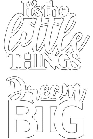 Penny Black - Creative Dies - Dream Big