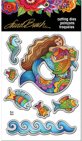 Stampendous - Laurel Burch Dies - Mermaid Fish