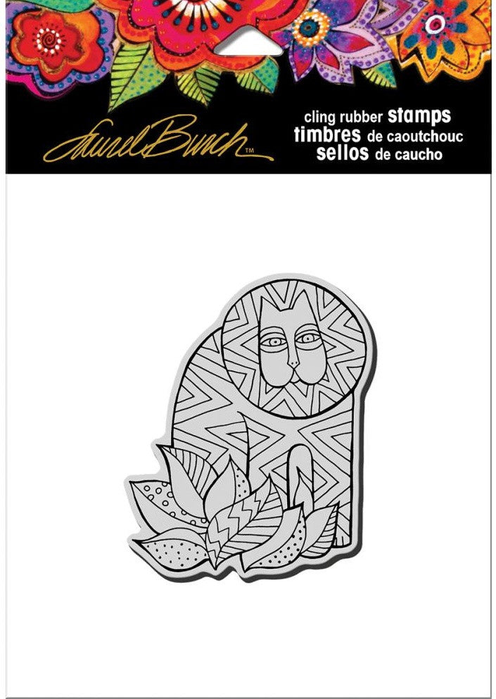Stampendous - Laurel Burch Cling Stamps - Lion