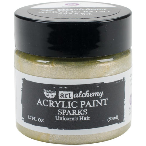 Prima Marketing - Finnabair Art Alchemy Sparks Acrylic Paint - Unicorn's Hair