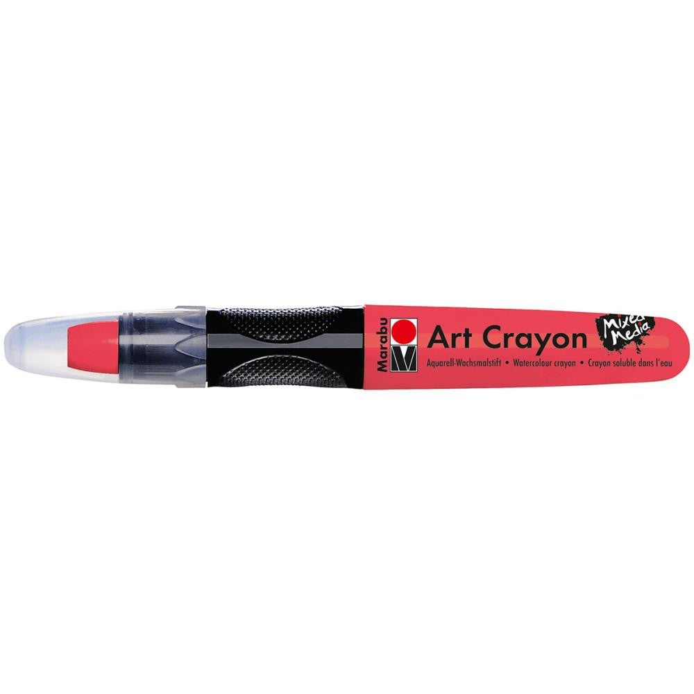 Marabu Creative Art Cray ons Cherry Red