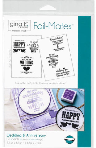 Therm O Web - Gina K Designs Foil-Mates - Wedding & Anniversary