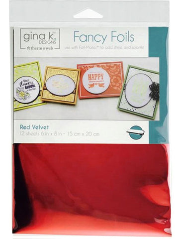 Thermoweb - Gina K Designs Fancy Foils - Red Velvet