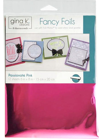 Therm O Web - Gina K Designs Fancy Foils - Passionate Pink