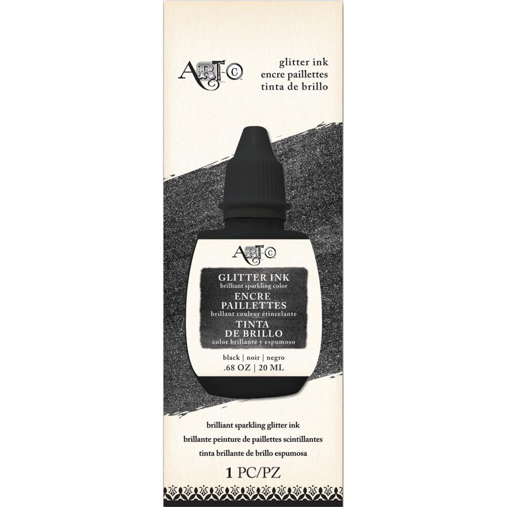 Art-C Glitter Ink - Black