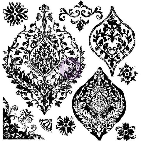 "Iron Orchid Designs Decor Clear Stamps 12""X12"" - Portico"