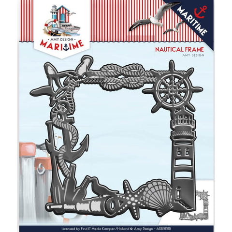(Pre-Order) Find It Trading Amy Design Maritime Die - Nautical Frame