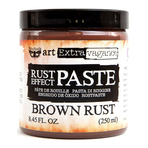 Prima Marketing - Finnabair Art Extravagence - Rust Effect Paste - Brown Rust