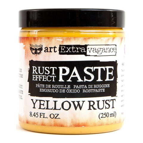Prima Marketing - Finnabair Art Extravagence - Rust Effect Paste - Yellow Rust