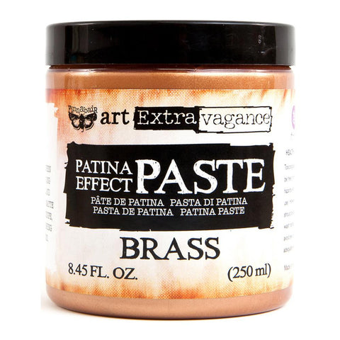 Prima Marketing - Finnabair Art Extravagence - Patina Effect Paste - Brass
