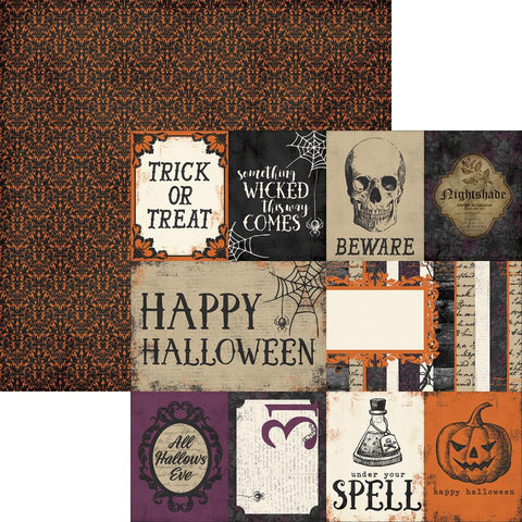 Simple Stories - Simple Sets Spellbound Double-Sided Elements (Halloween)