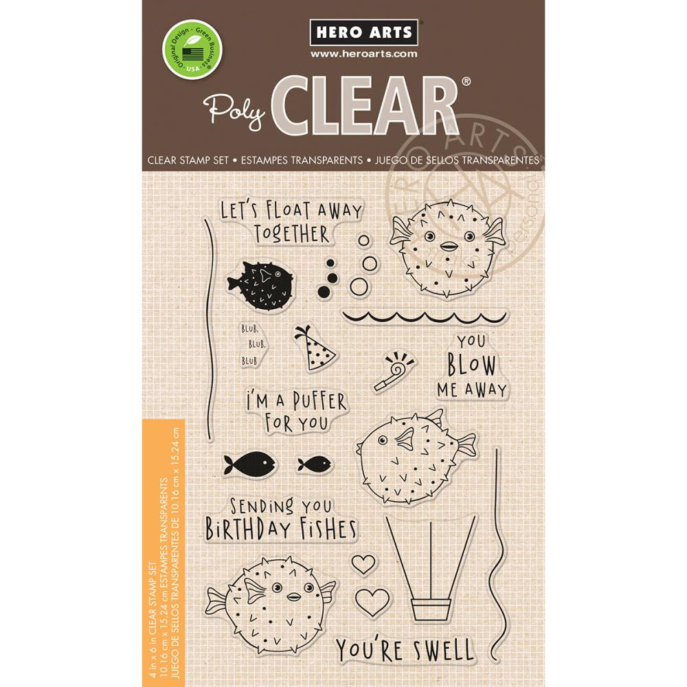 "Hero Arts - Clear Stamps 4"" x 6"" - I'm A Puffer For You"