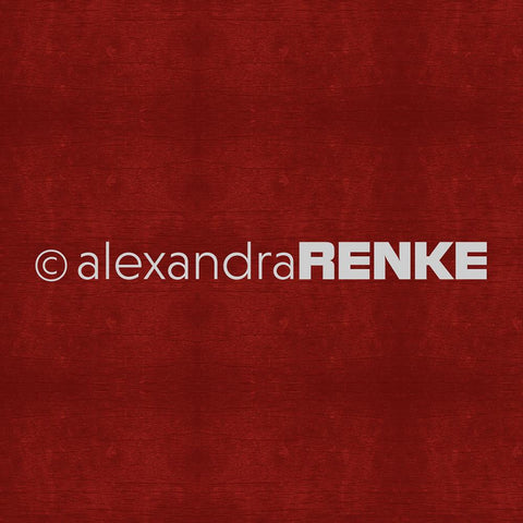Alexandra Renke - Wooden Structure Basic Design Paper - Dark Red
