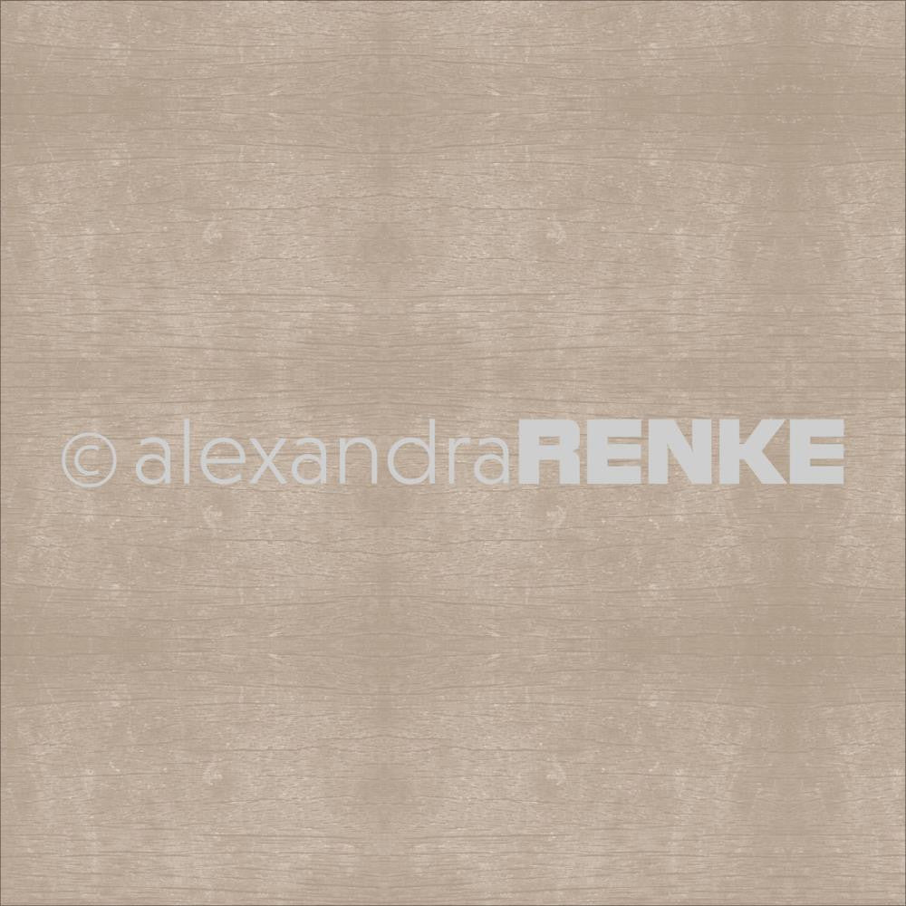 Alexandra Renke - Wooden Structure Basic Design Paper - Brown