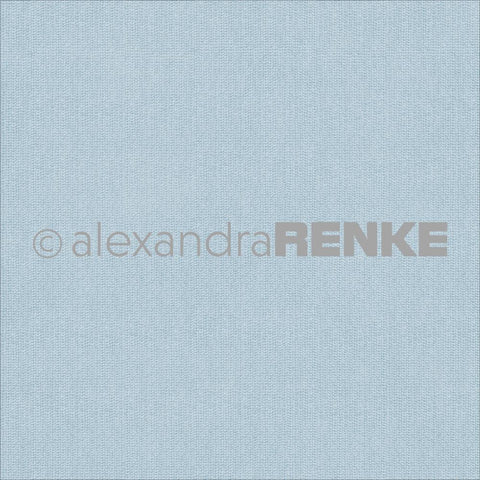Alexandra Renke Basic Design Paper - Blue Knitted