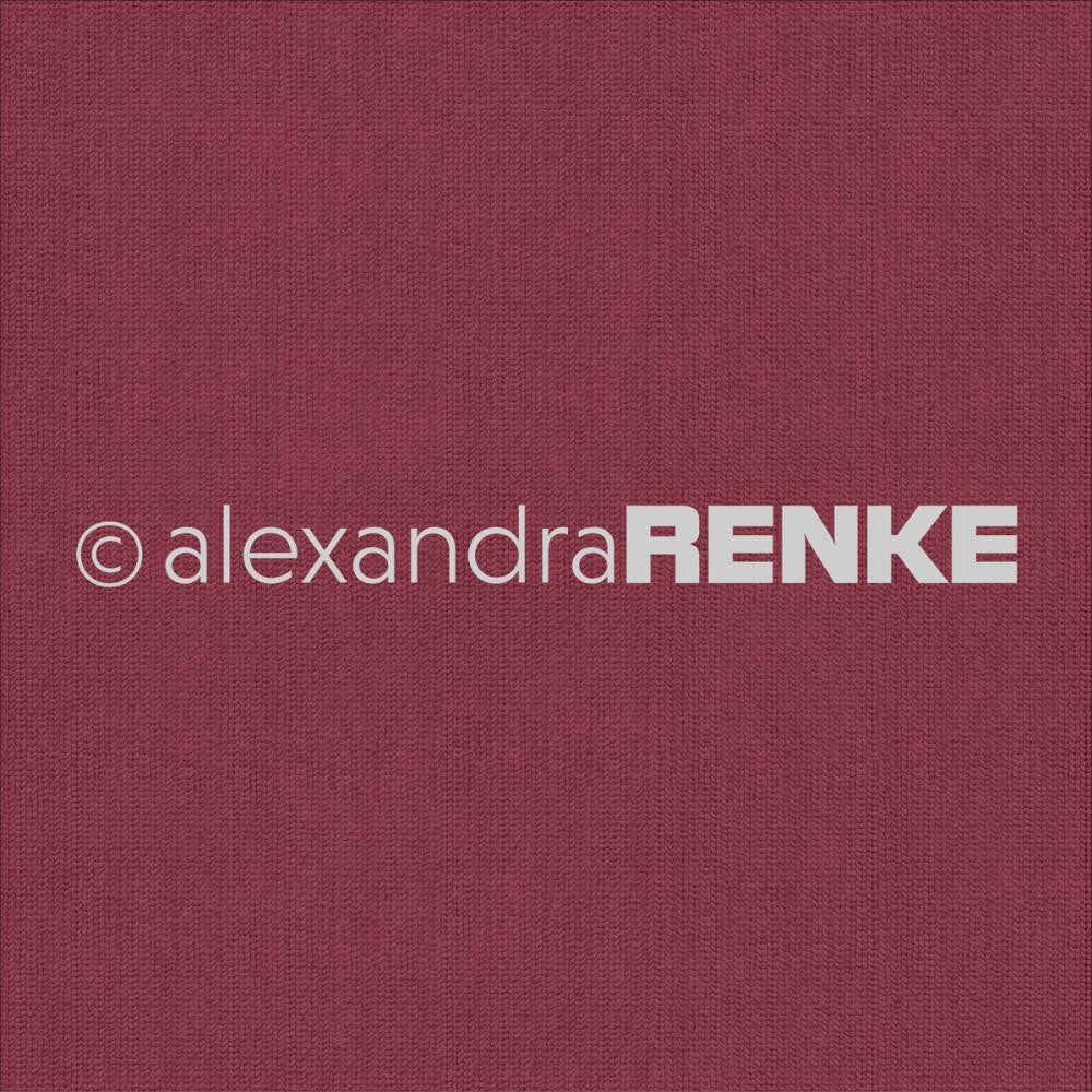 Alexandra Renke Basic Design Paper - Red Knitted