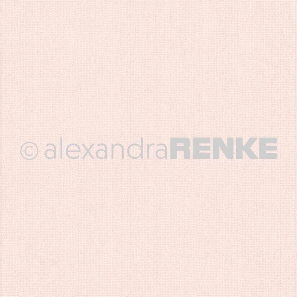 Alexandra Renke Basic Design Paper - Rose Knitted