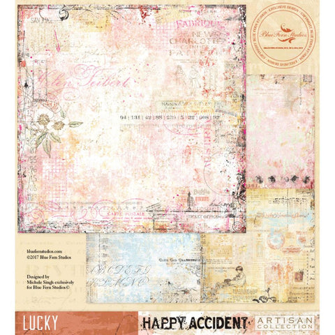 ***Pre-Order*** Blue Fern Studios - Happy Accident Double-Sided Cardstock - Lucky