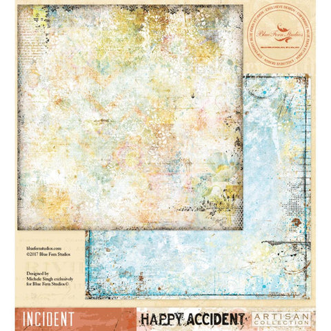 ***Pre-Order*** Blue Fern Studios - Happy Accident Double-Sided Cardstock - Incident