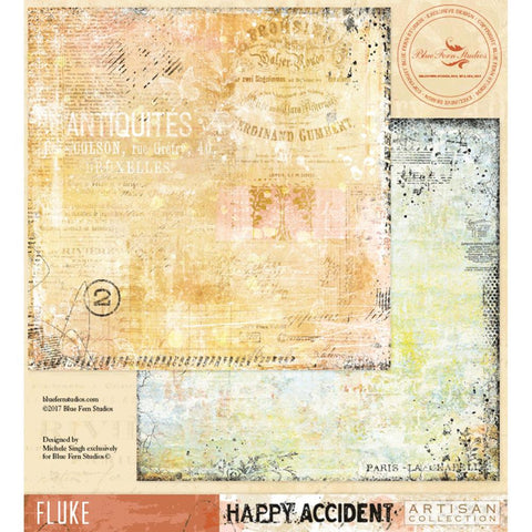 ***Pre-Order*** Blue Fern Studios - Happy Accident Double-Sided Cardstock - Fluke