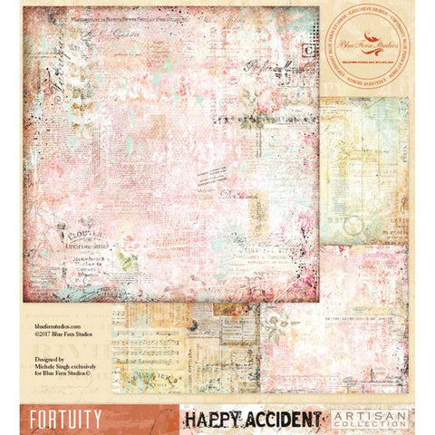 ***Pre-Order*** Blue Fern Studios - Happy Accident Double-Sided Cardstock - Fortuity