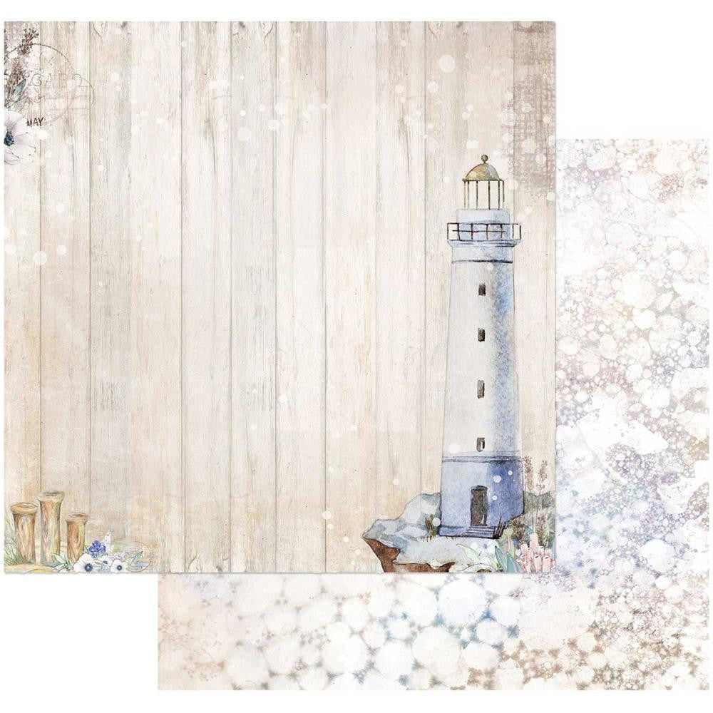 "49 and Market - Sand & Sea Double-Sided Cardstock 12""X12"" - Seafoam"