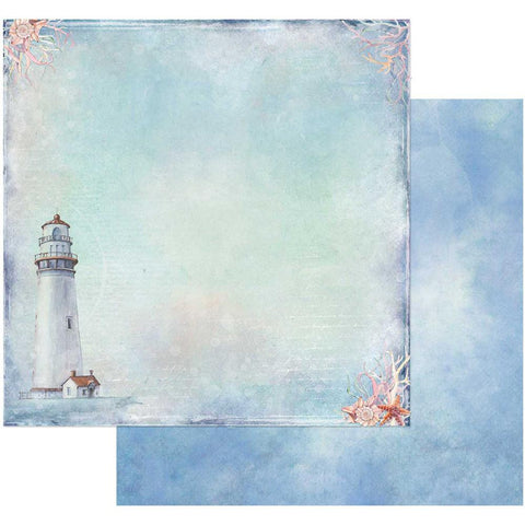 "(Pre-Order) 49 and Market - Sand & Sea Double-Sided Cardstock 12""X12"" - The Lookout"