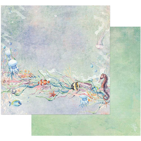 "(Pre-Order) 49 and Market - Sand & Sea Double-Sided Cardstock 12""X12"" - Tangled"