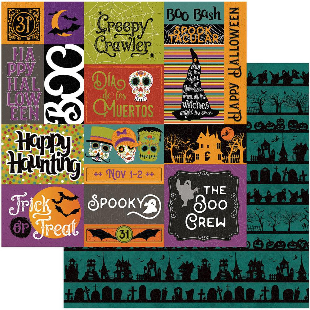 Photo Play Paper - Matilda & Godfrey Double-Sided Cardstock - Trick Or Treat (Halloween)