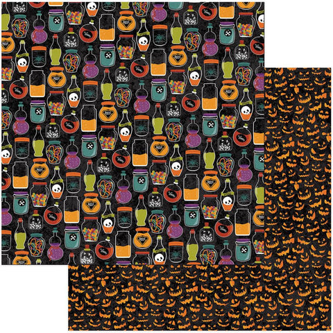 Photo Play Paper - Matilda & Godfrey Double-Sided Cardstock - Toil & Trouble (Halloween)
