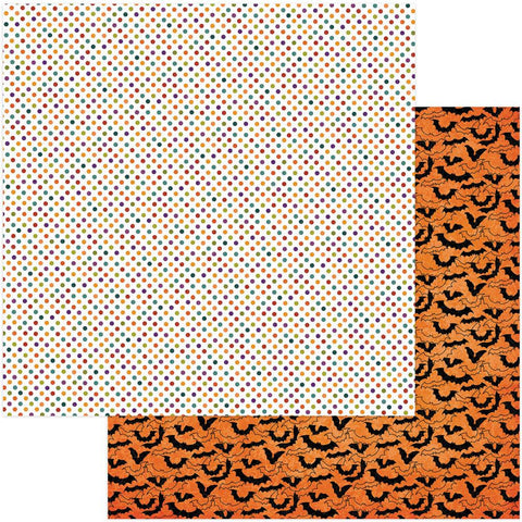 Photo Play Paper - Matilda & Godfrey Double-Sided Cardstock - Haunted House (Halloween)