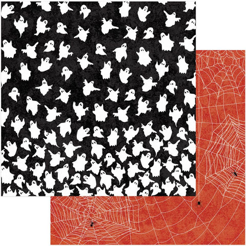 Photo Play Paper - Matilda & Godfrey Double-Sided Cardstock - Creepy Crawlers (Halloween)