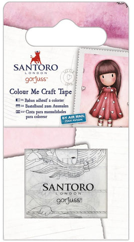 Docrafts - Santoro London Colour Me Craft Tape - Gorjuss