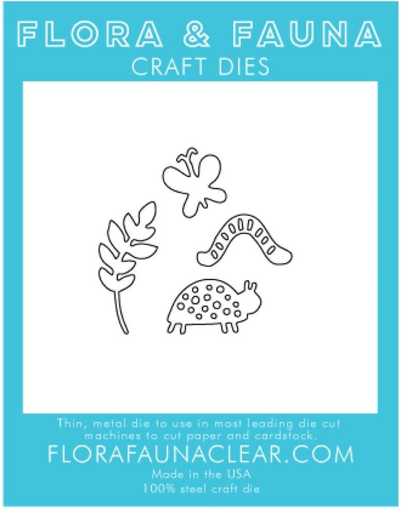 Flora and Fauna Craft Dies - Woodland Creatures