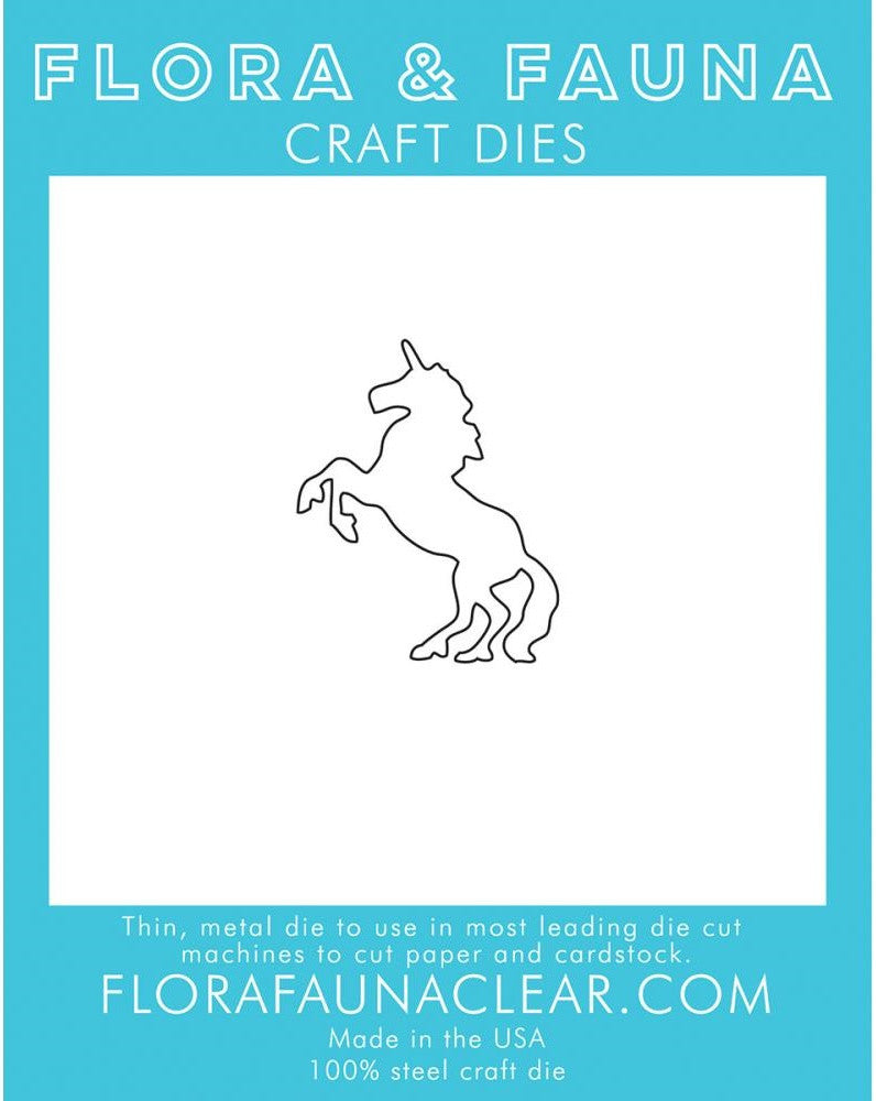 Flora and Fauna Craft Dies - Unicorn 1