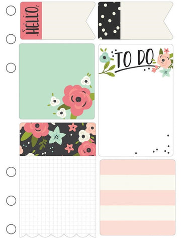 ***Pre-Order*** Simple Stories - Carpe Diem Sticky Notes - Bloom