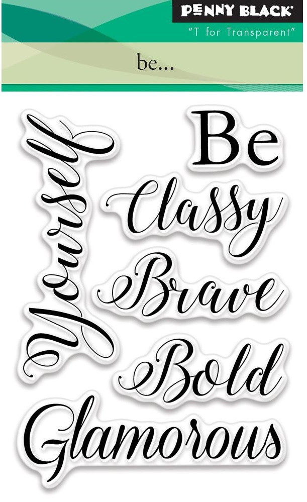 Penny Black - Clear Stamps - Be...