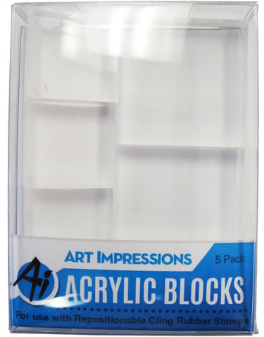 Art Impressions - Acrylic Block Set
