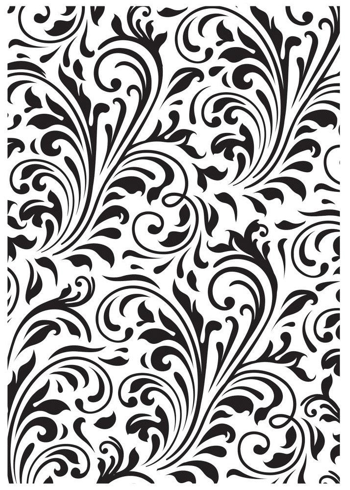 Kaisercraft - Christmas Edition Embossing Folder - Flourish