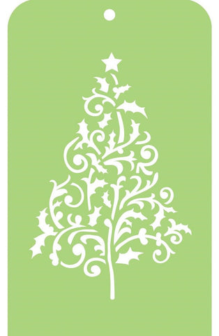 Kaisercraft - Christmas Edition Mini Designer Templates - Flourish Tree
