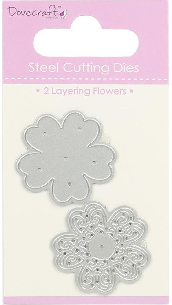 Dovecraft - Steel Cutting Dies - Layering Flower