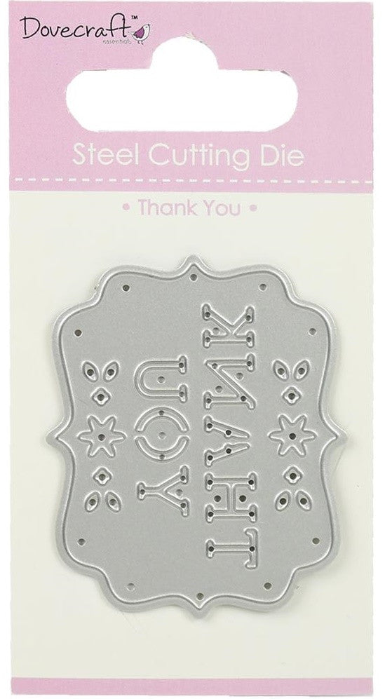 Dovecraft - Steel Cutting Dies - Thank You
