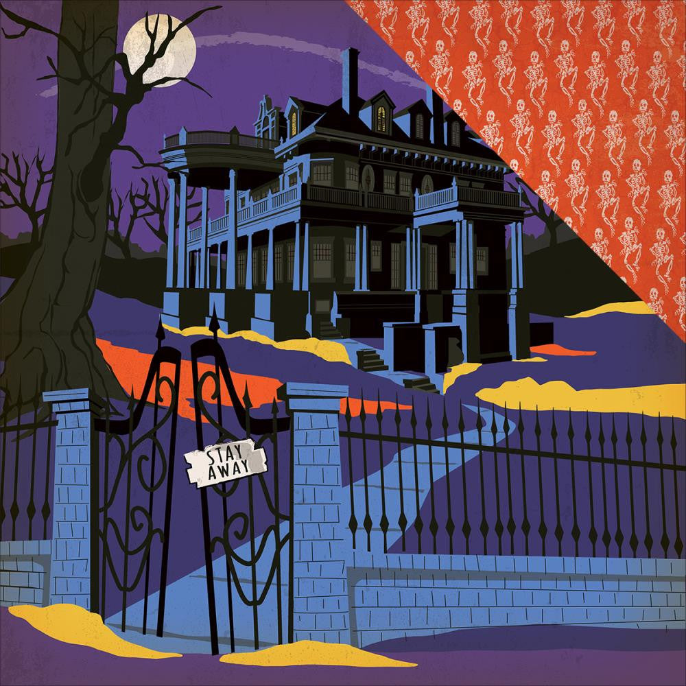 Carta Bella - Haunted House Double-Sided Cardstock - Haunted House (Halloween)